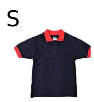 BOY'S POLO SHIRT - NAVY BLUE