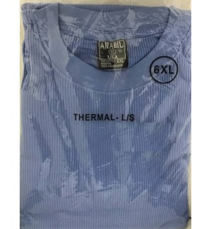 HEAVY THERMAL SHIRTS - SKY BLUE