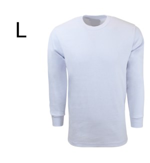 HEAVY THERMAL SHIRTS - WHITE