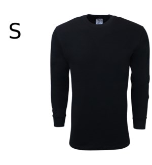 HEAVY THERMAL SHIRTS - BLACK