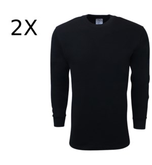 HEAVY THERMAL SHIRTS - BLACK