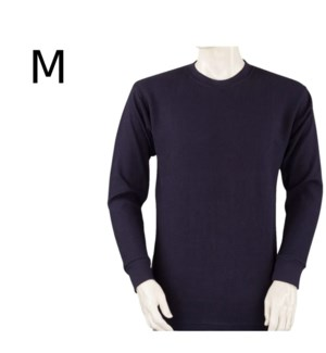 HEAVY THERMAL SHIRTS - NAVY BLUE