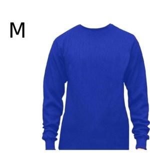 HEAVY THERMAL SHIRTS - ROYAL BLUE