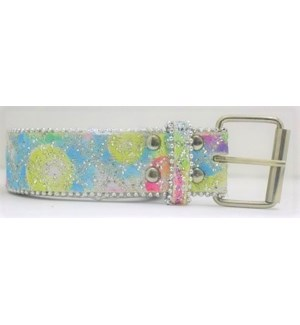 IAC #522-25 LADIES FABRIC BELT