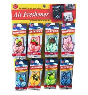 U #82647 PAPER CAR AIR FRESHENER