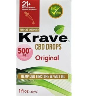 KRAVE CBD DROPS ORIGIANL