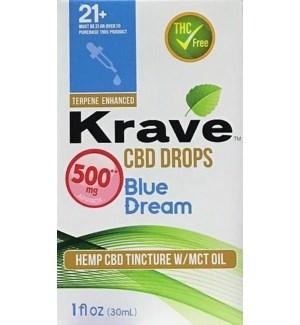 KRAVE CBD DROPS BLUE DREAM