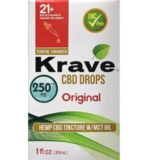KRAVE CBD DROPS ORIGINAL