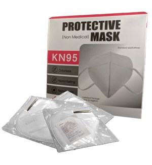 FACE MASK KN95 DISPOSABLE INDIVIDUAL WRAP