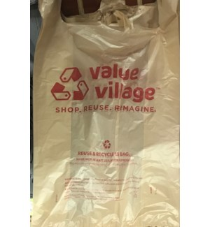 T SACK #91067 JUMBO VALUE VILLAGE BAGS