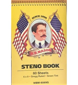 STENO NOTEBOOK #WBM6069G