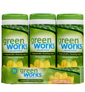 GREEN WORKS WIPES BY CLOROX