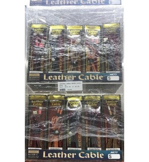 LEATHER CABLE PHONE DISPLAY