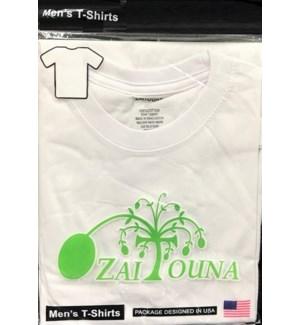T-SHIRT WHITE ZAITOUNA