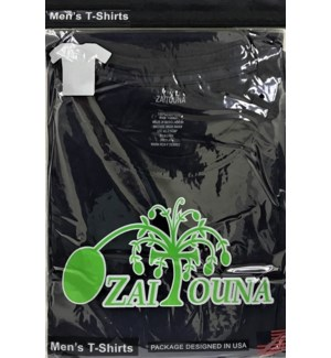 T-SHIRT BLACK ZAITOUNA
