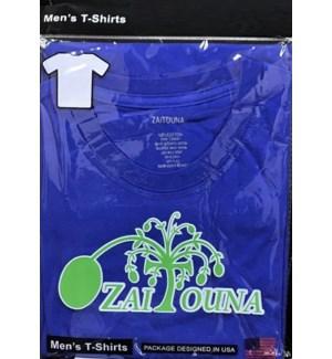 T-SHIRT R.BLUE ZAITOUNA