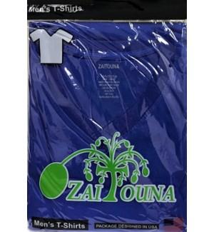 V-NECK SHIRT R.BLUE ZAITOUNA