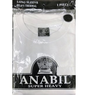 LONG SLEEVE - WHITE-SHIRTS ANABIL