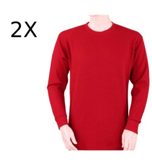 HEAVY THERMAL SHIRTS - RED