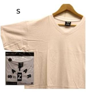 V NECK SHIRTS - WHITE
