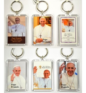 REL KEYCHAIN - POPE FRANCIS