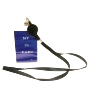 RETRACTABLE LANYARD #67734 BLACK