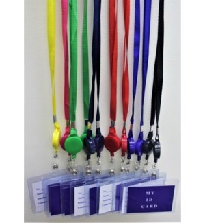 LANYARD #67731 RETRACTABLE ID HOLDER