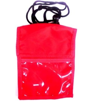 ID BADGE BODY BAG - RED