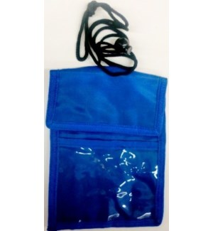 ID BADGE BODY BAG - BLUE