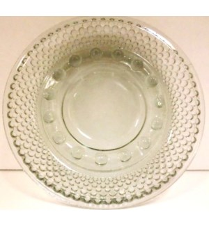 GLASS ASHTRAY #2-810C ROUND CLEAR
