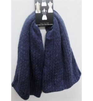 INFINITY SCARF #AWIS4431NV NAVY BLUE