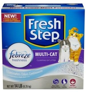 FRESH STEP #30468 MULTI CAT LITTER