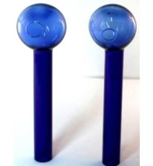 GLASS VIAL - BLUE