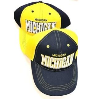 SPORT CAP #HT-4104 MICHIGAN