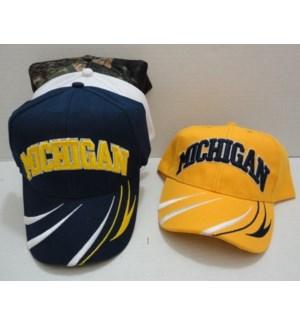 """SPORT CAP #HT709 MICHIGAN """"M"""""""
