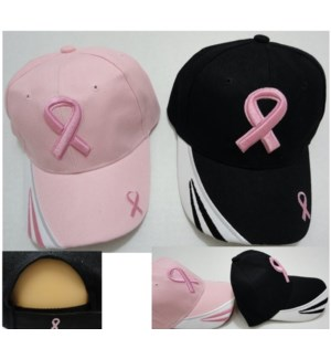 HAT #HT71 PINK RIBBON