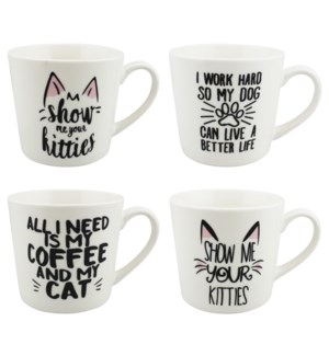 COFFEE MUG #WD02354 PET DESIGN