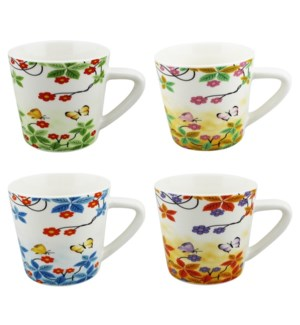 COFFEE MUG #WD3203 FLOWER DESIGN
