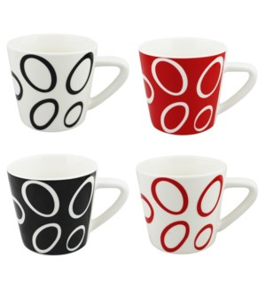COFFEE MUG #WD3209 SWIRL DESIGN