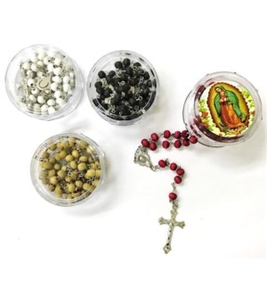 REL ROSARY #4245-13 GUADALUPE