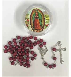 REL ROSARY #4245-12 GUADALUPE