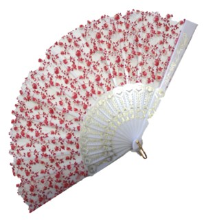 HAND FAN #DFY111 WHITE ASST