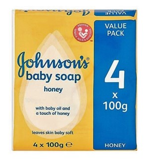 JOHNSON'S BAR SOAP #48431 BABY W/HONEY