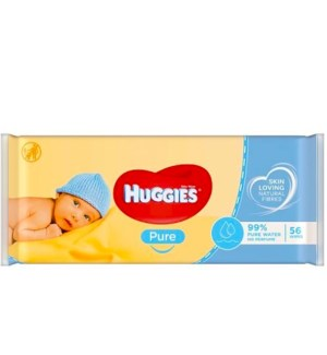 HUGGIES #59571 PURE BABY WIPES