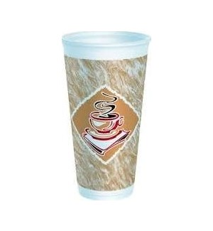 FOAM CUP #20X16G COFFEE CUP