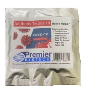 COVID-19 ANTIBODY TESTING KIT FDA AUTHORIZED