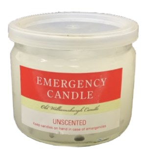 EMERGENCY CANDLE #66590 IN JAR