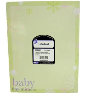 LETTERHEAD PAPERS #9730021 BABY