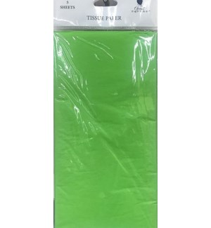 TISSUE PAPER #1291219 LIME GREEN