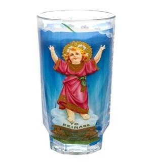 CUP CANDLE #6184 DIVINE CHILD JESUS